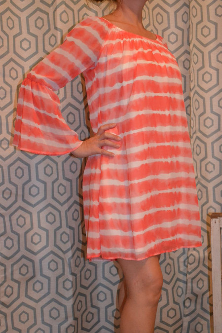 Waiting For Tonight Dress - Coral