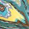 Multicolor Swirl Print Leggings