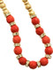 Necklace / Faceted Natural Stone Bead / Adjustable / Textured Metal Bead / Crystal Stone / Chain / 18 Inch Long / 1/4 Inch Drop / Nickel And Lead Compliant