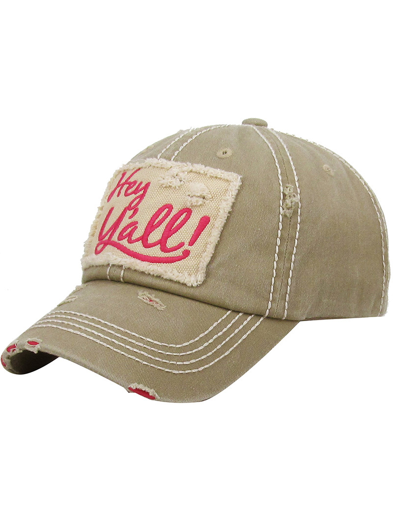 Hey Yall Hat And Cap 114