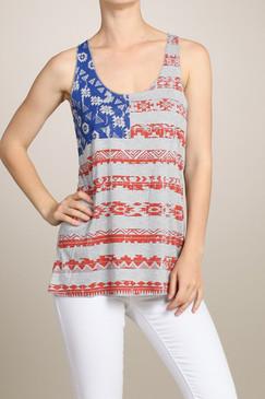 American Girl Flag Tank