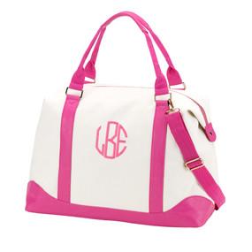 Pink Sullivan Weekender Bag