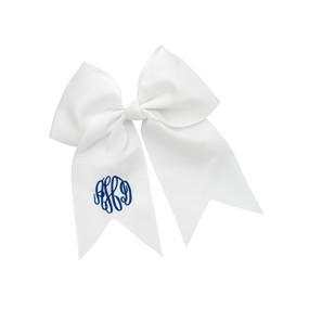 White Hair Bow