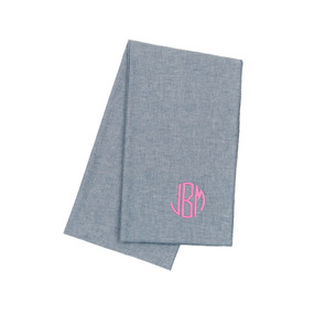 Chambray Summer Scarf