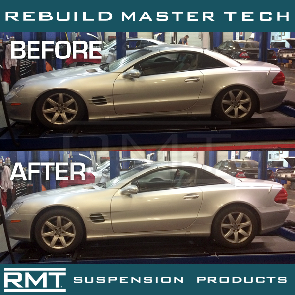 mercedes-benz abc (active body control) hydropneumatic suspension problems  & solutions  - rebuild master tech