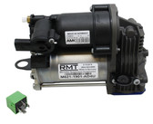 M621-1901-AD4U - Mercedes-Benz ML-Class W166 2012-2018 OEM NEW AMK Air Suspension Compressor & Relay Kit (1663200104)