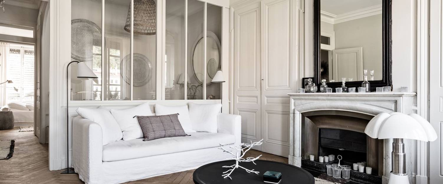 House Tour An Apartment In Black White In Lyon France Stylodeco