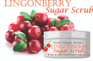 8oz Lingonberry Sugar Scrub