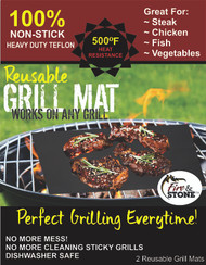 Fire & Stone Grilling Mat 2PK