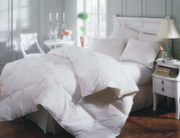 Mackenza White Down Summer Comforter - Queen