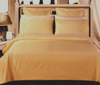 Solid Gold 550TC Egyptian cotton 8PC Bed in a Bag