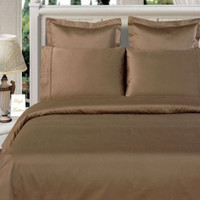 Solid Taupe 550TC Egyptian cotton 8PC Bed in a bag