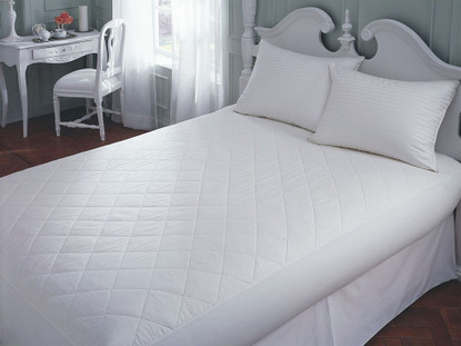 "Cotton Mattress Pad 14"" Depth"