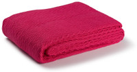 Charisma Cotton Throw - Red