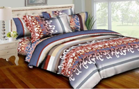 Stripes & Swirls Bedding Set