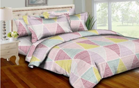 Trendy Triangles Bedding Set
