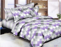 Diamond Mix & Match Lavender Bedding Set