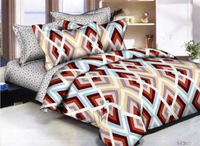 Color Blocked Diamonds Bedding Set