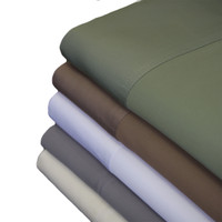 100% Bamboo Viscose 600 Thread  Count Queen Sheet Set
