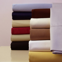 Egyptian Cotton Solid 300 Thread Count Queen Sheet Set