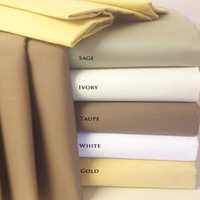 "100% Combed Cotton 300 Thread Count 22"" Deep Pocket King Sheet Set"