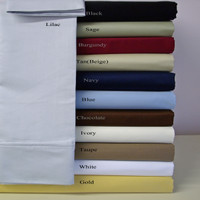 100% Microfiber Super Soft Wrinkle Free California King Sheet Set