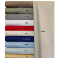 100% Bamboo Viscose 600 Thread Count King Set Of 2 Pillowcases