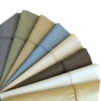 Cotton Blend 650 Thread Count Solid Pillowcases