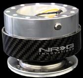 Quick Release Kit - Silver/Black Carbon Fiber