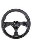 320mm Sport Steering Wheel w/ Black Trim