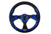 320mm Sport Steering Wheel w/ Blue Trim
