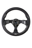 320mm Sport Steering Wheel w/ Carbon Look
