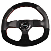 320mm Sport Suede Steering Wheel Oval