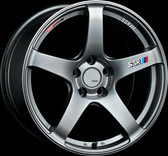 SSR GTV01 18x9.5 5x114.3 45mm Offset Phantom Silver Wheel S2000 / 11+ WRX / 08+ STI