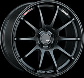 SSR GTV02 18x9.5 5x114.3 45mm Offset Flat Black Wheel S2000 / 11+ WRX / 08+ STI