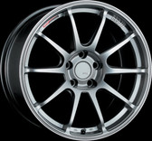 SSR GTV02 18x9.5 5x114.3 45mm Offset Phantom Silver Wheel S2000 / 11+ WRX / 08+ STI