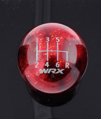 Engraved Red Cosmic Space WRX 6-Speed Pattern