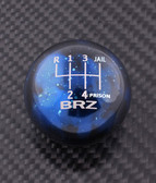 Blue Cosmic Space BRZ 6-SPEED JAIL-PRISON PATTERN