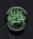 Green Cosmic Space BRZ 6-SPEED JAIL-PRISON PATTERN