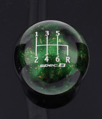 Green Cosmic Space spec.B 6-SPEED SHIFT PATTERN