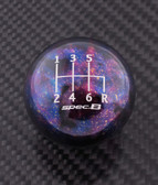 Purple Cosmic Space spec.B 6-SPEED SHIFT PATTERN