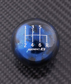 Blue Cosmic Space spec.B 6-SPEED SHIFT PATTERN