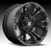 15X8,5x4.5/5x4.75  -16 VAPOR - D569 (Black & Machined with Dark Tint)