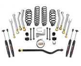 ReadyLift Suspension 07-16 Jeep Wrangler JK 2.5in Spring And 8 Arm Kit w/ Trac Bars/SST3000 Shocks