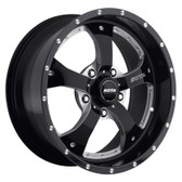 NOVAKANE 5  17x9 5x4.5 -12mm  Stealth Black (Satin Black)