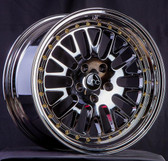 JNC001 Platinum Gold Rivets 18x9.5 5x114.3 +25