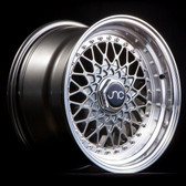 JNC004 Gunmetal Machined Lip 18x9.5 5x100/5x114.3 +25