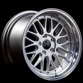 Jnc005 Silver Machine Lip 18x9 5x100 +34