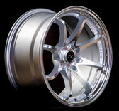 JNC006 Silver Machined Face 17x9 5x100/5x114.3 +25