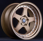 JNC010 TRANSPARENT BRONZE 17x9 5x114.3 +25